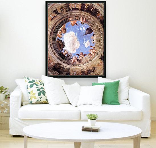 Mantegna Ceiling Oculus in the Camera degli Sposi, Mantova  Art