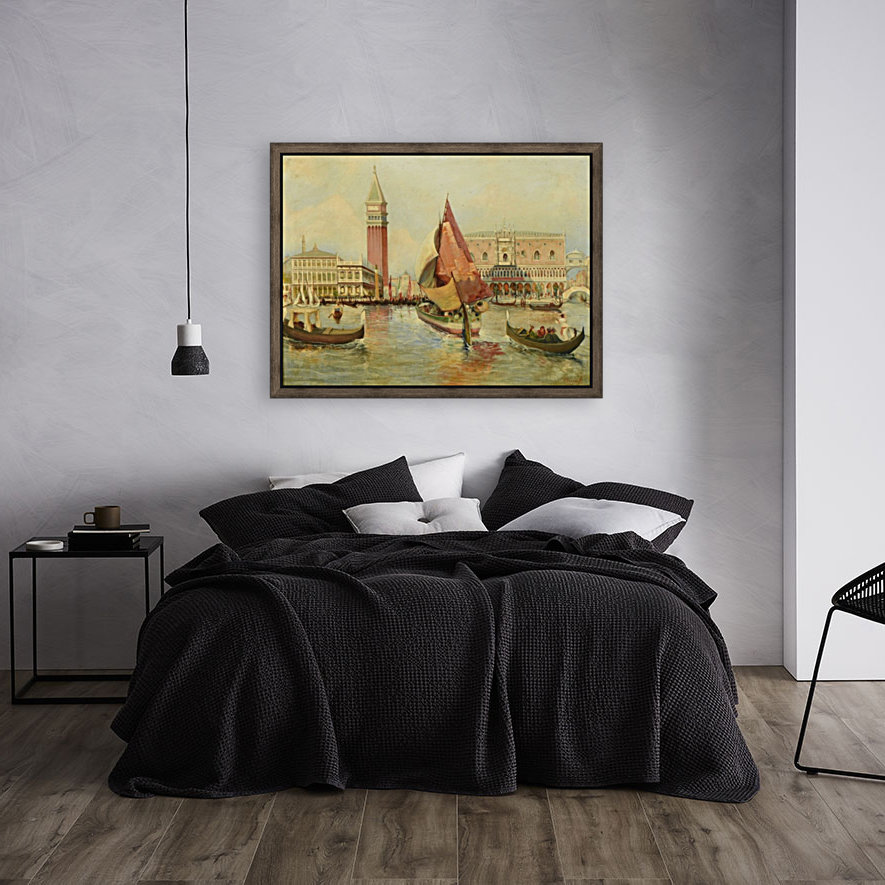 Venice city view  Art