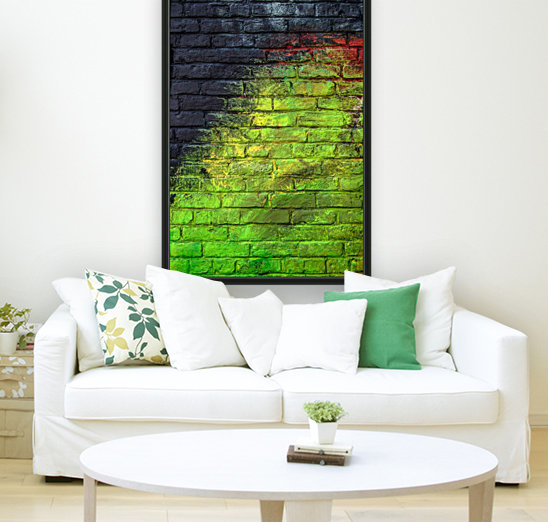 The Green Wall  Art