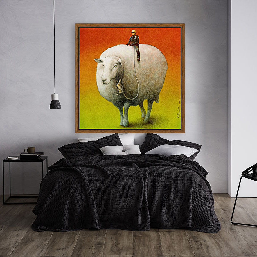 Sheep Control  Art