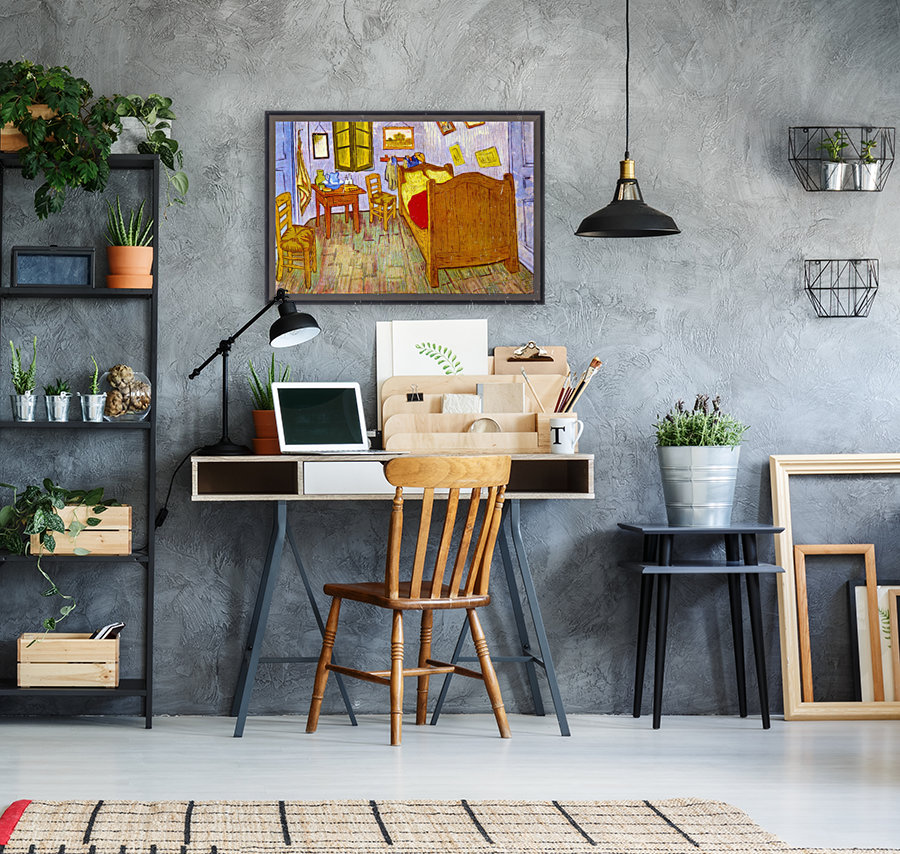 Bedroom at Arles by van Gogh  Art