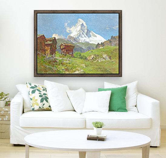 Matterhorn seen from Winkelmatten  Art