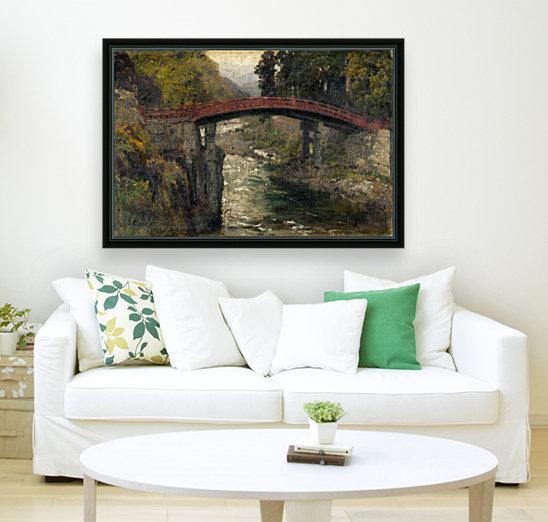 The sacred bridge in Nikko  Art