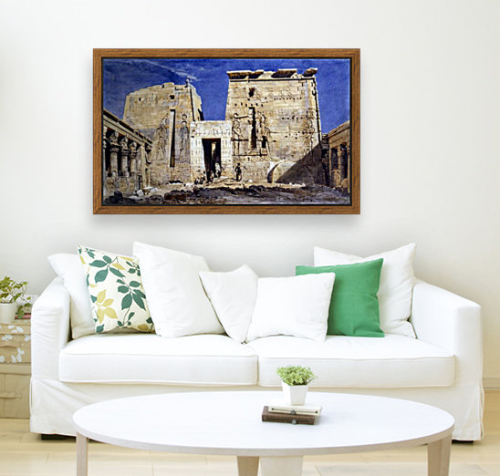 Temple of Isis at Philae  Art