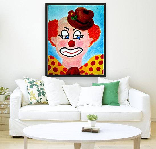 Masker, The sad Clown  Art
