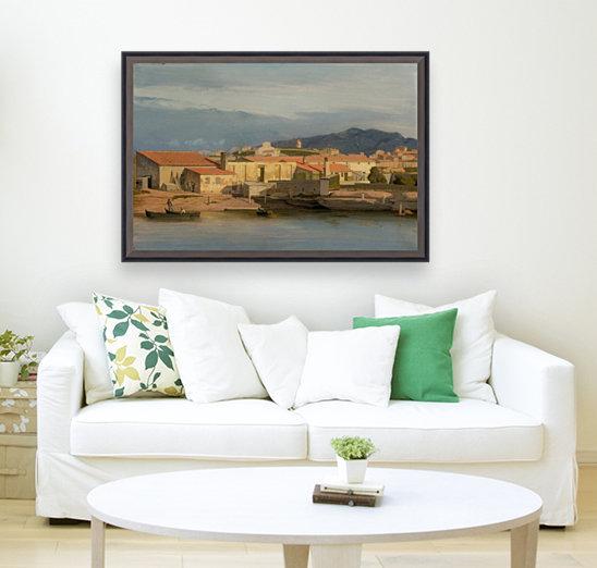 Vue des environs de Marseille  Art