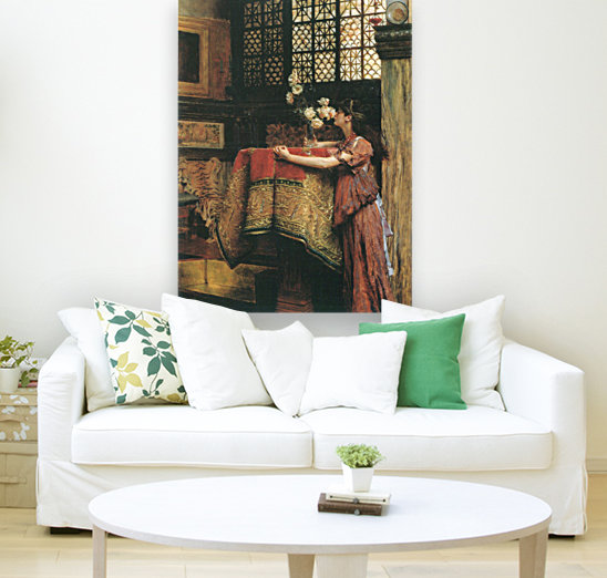 In my studio by Alma-Tadema with Floating Frame