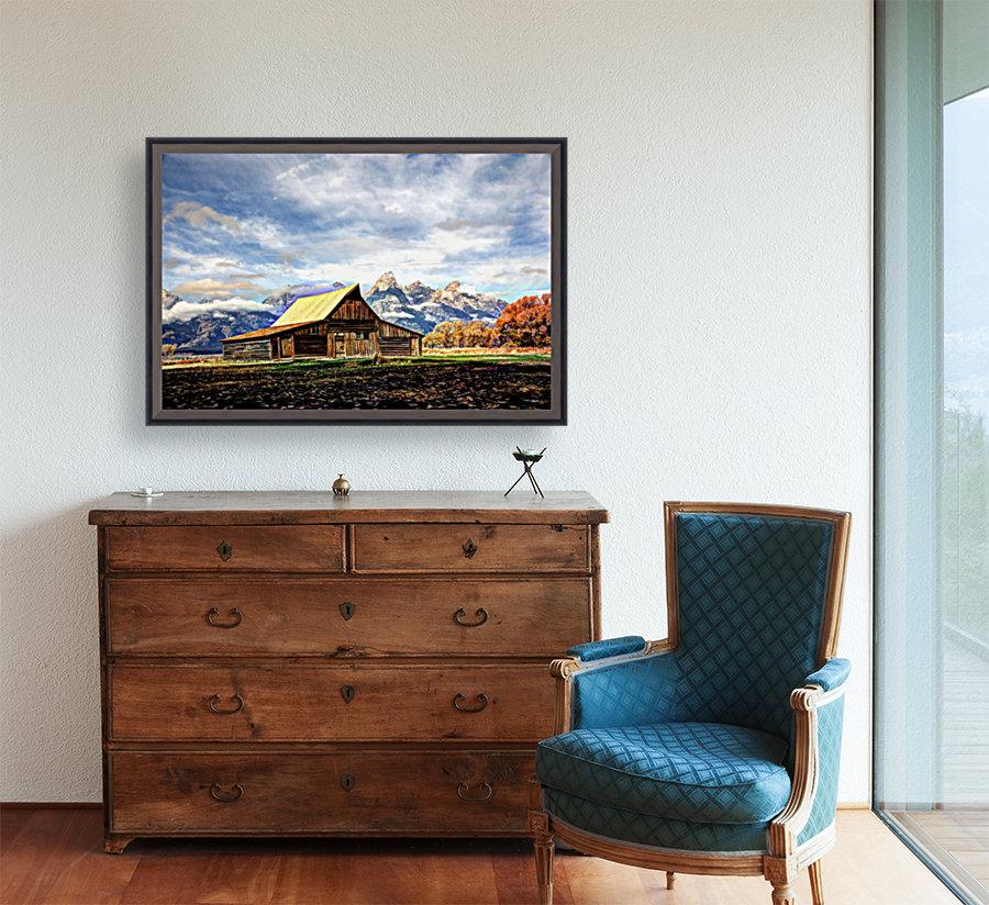 Mormon Row   Jackson Hole  Art