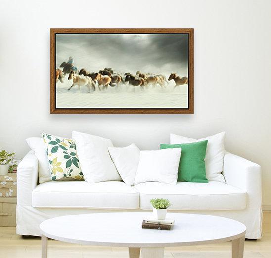 Horses gallop  Art