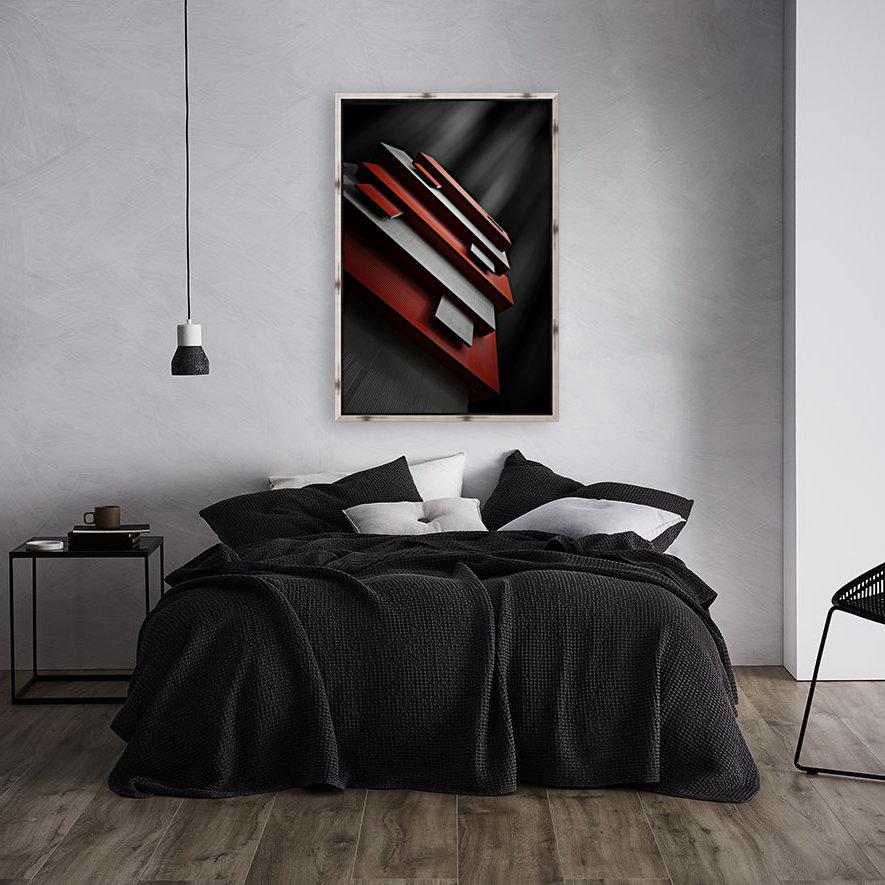 red&white  Art