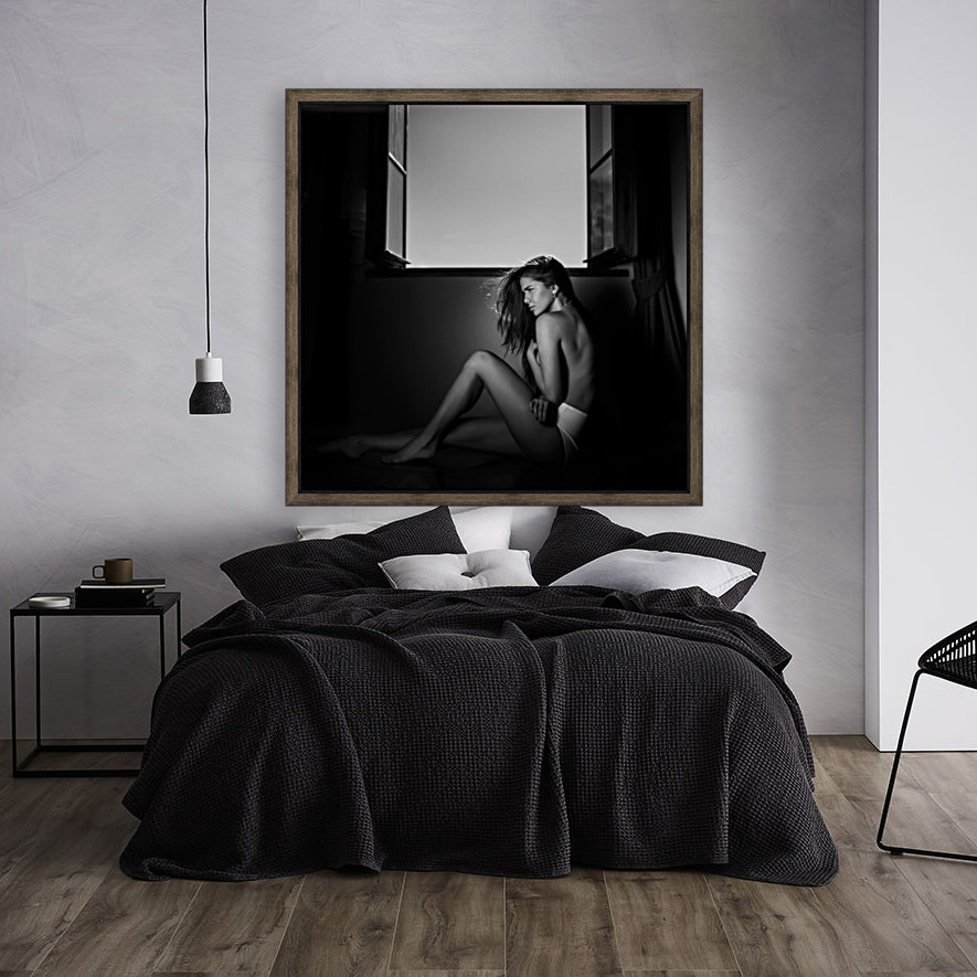 Sensual bedroom 1x canvas - Sensual paintings for the bedroom ...