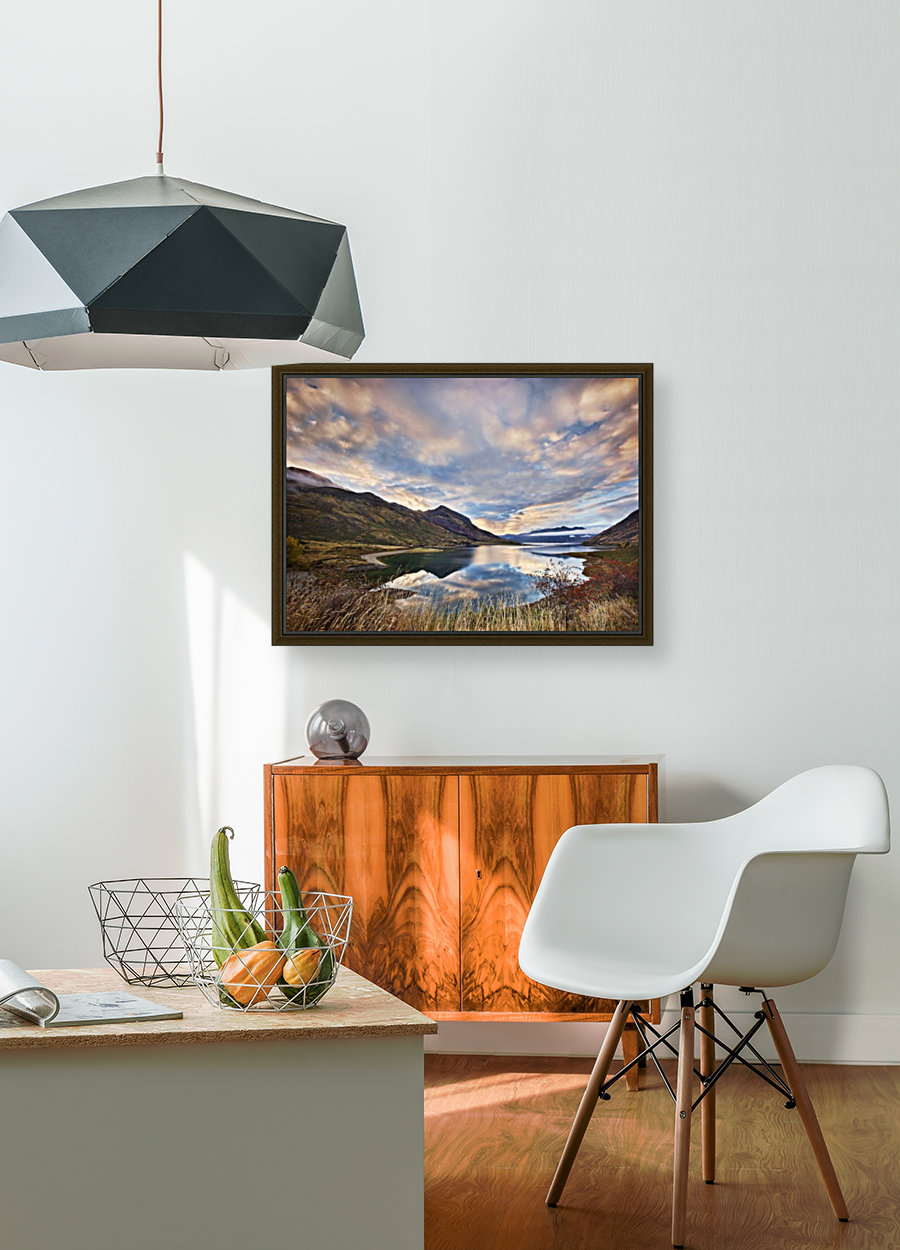 Morning Delight at Lake Hawea with Floating Frame