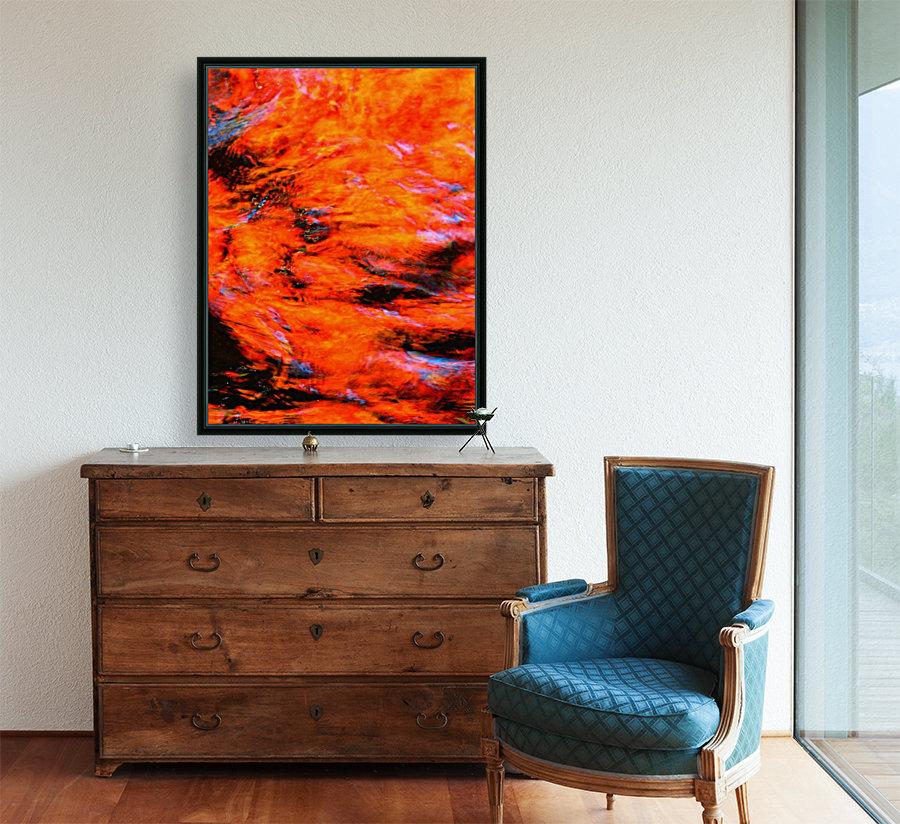 The Flock Orange  Art