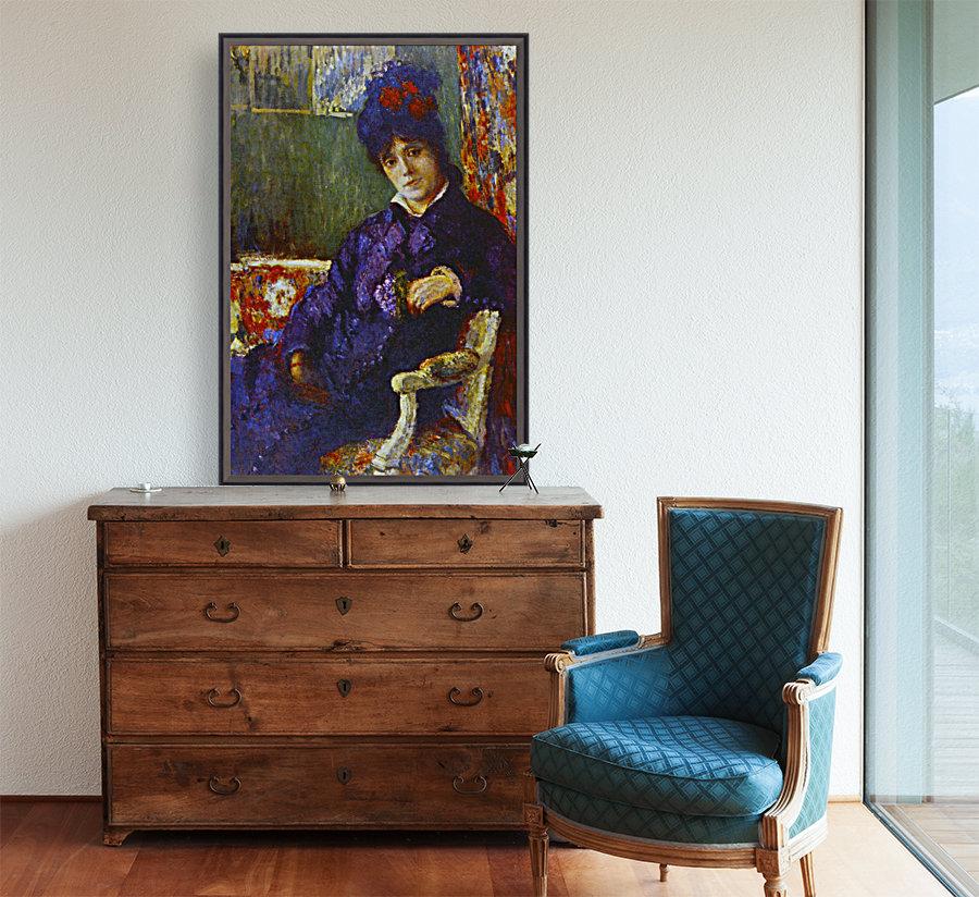 Seated Woman by Cassatt  Art