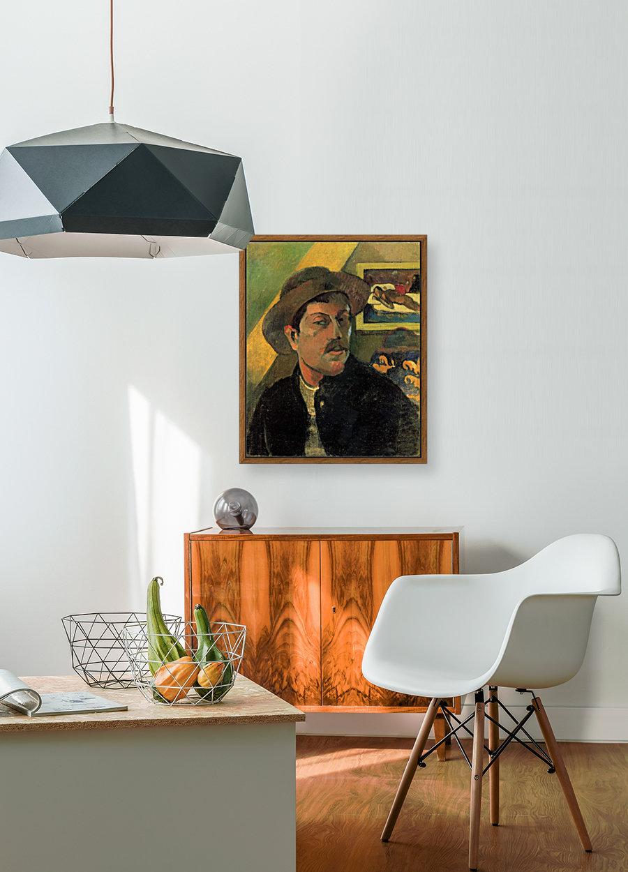 Self Portrait by Gauguin  Art