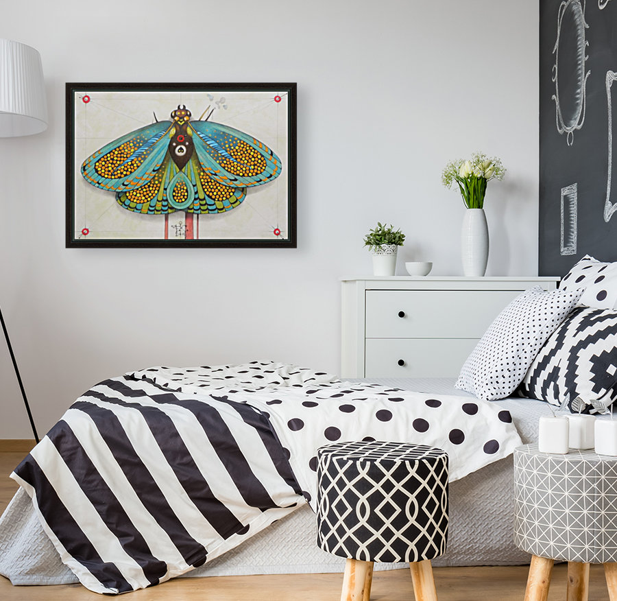 psychedelic butterfly  Art