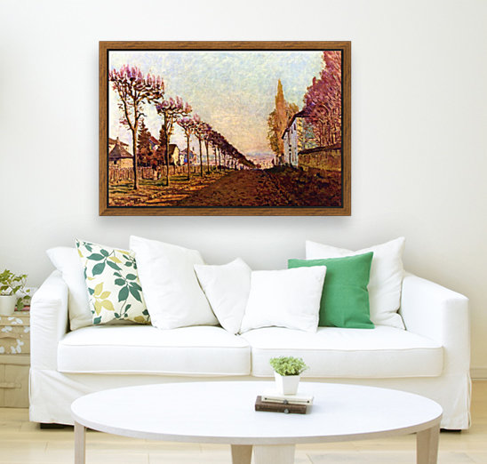 The Avenue by Sisley with Floating Frame