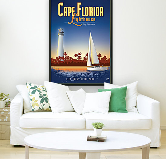 Cape Florida Lighthouse  Art