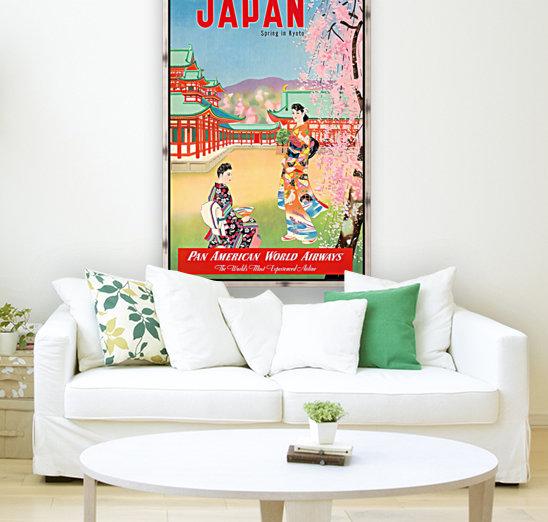 Pan American World Airways Japan Spring in Kyoto  Art