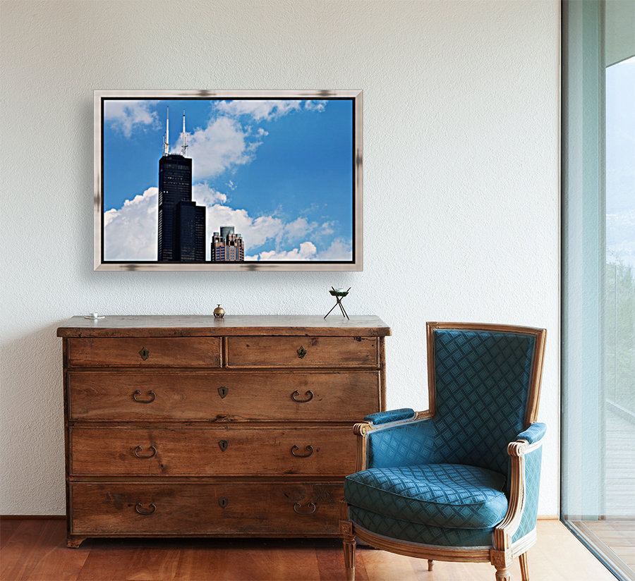 Willis Tower with Floating Frame