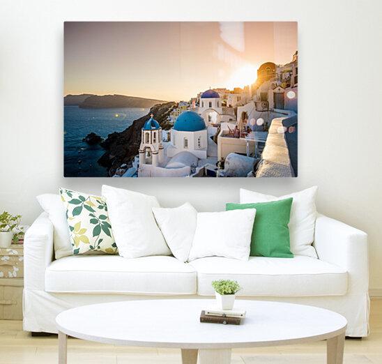 Coastal Oia  Art