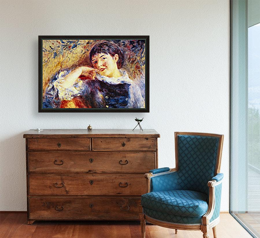 The Dreamer by Renoir  Art