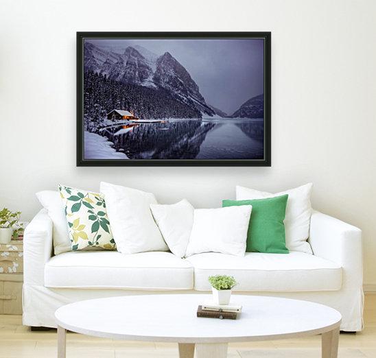 Winter Lake Louise   Art