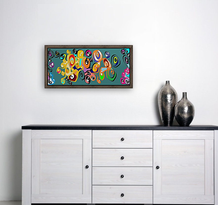 elecflowers with Floating Frame