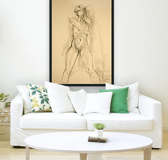 Female Nude Study  Art
