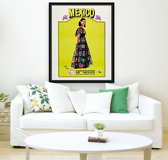 Aeronaves de Mexico Poster  Art
