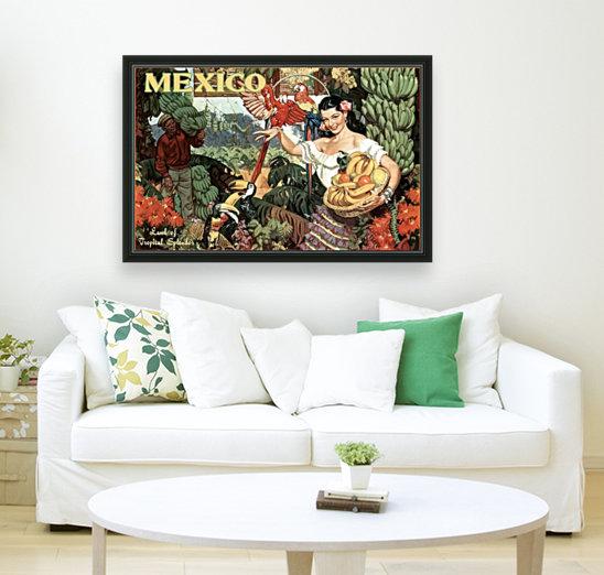 Mexico Land of Tropical Splendor  Art