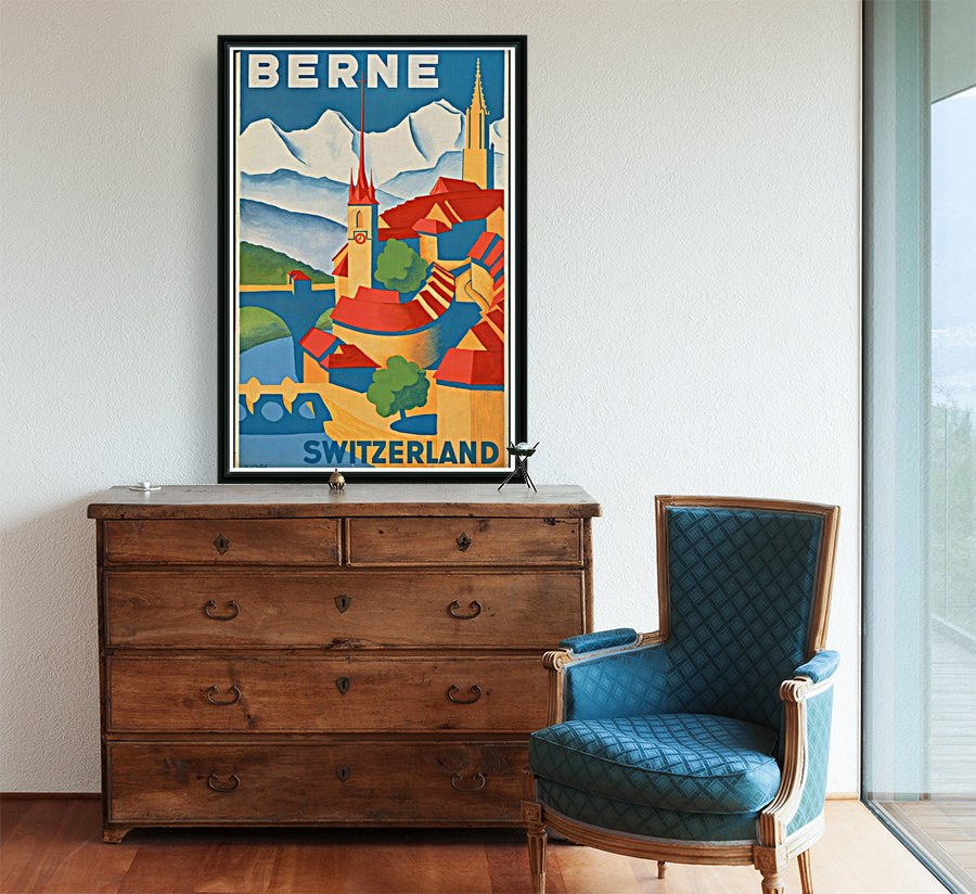 Berne Switzerland with Floating Frame