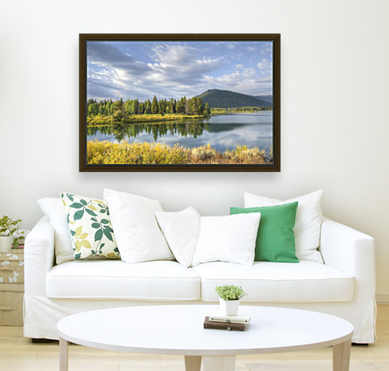 Snake River Charm with Floating Frame