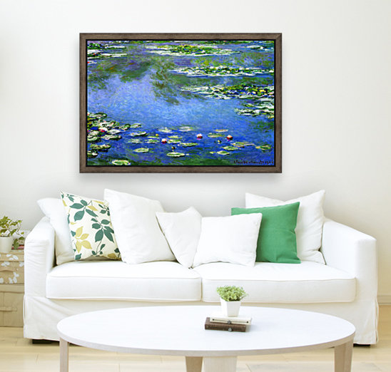 Water Lilies by Monet  Art