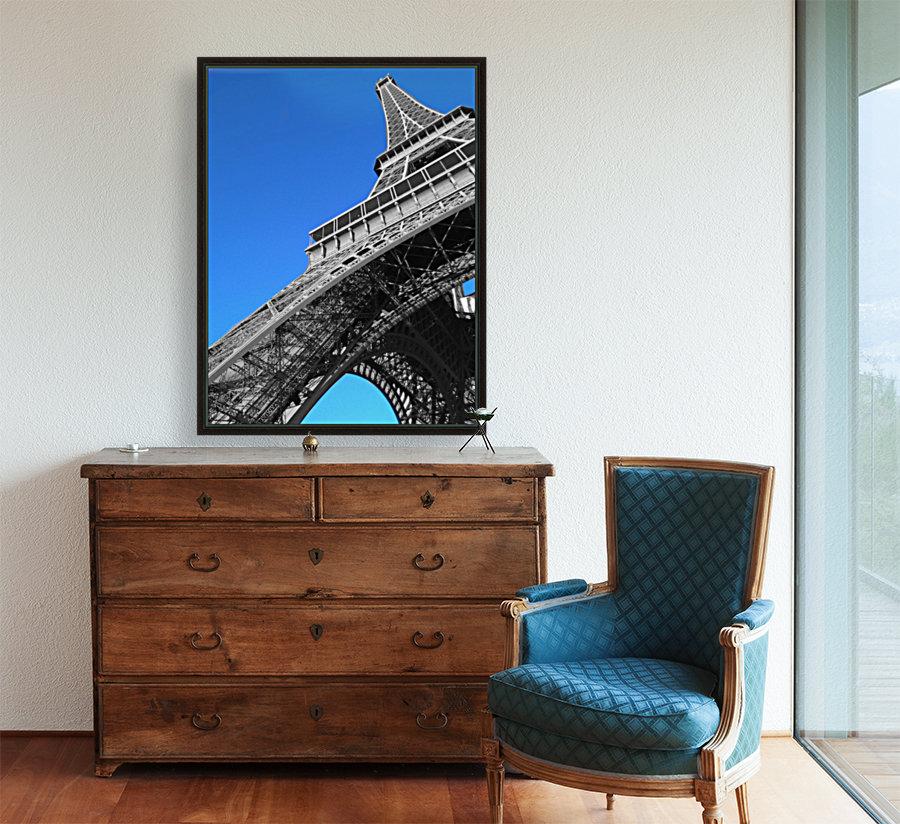 silver Eiffel tower Paris  Art