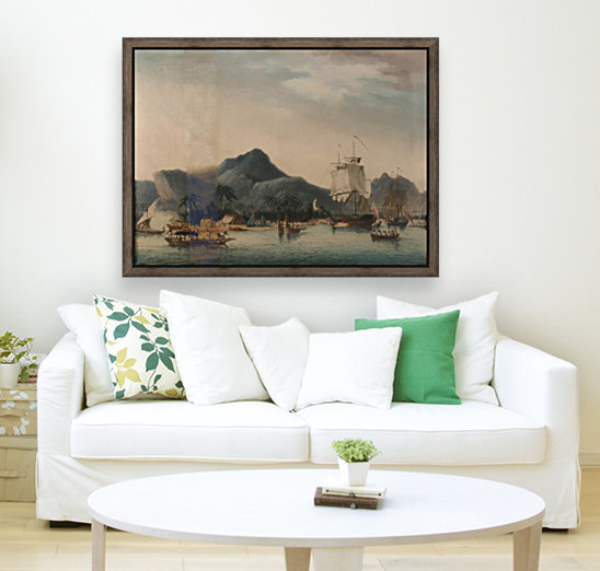 The Resolution and Discovery off Hawaii  Art