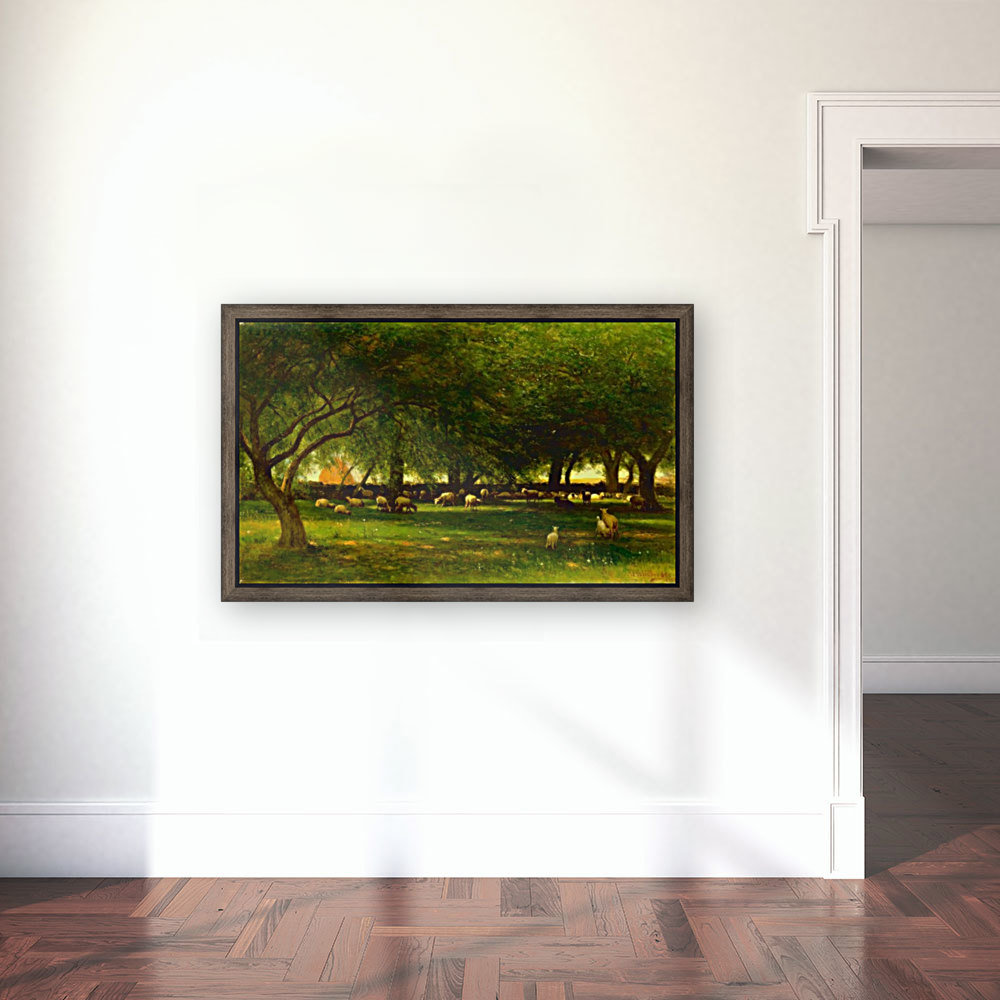 Noon in the Orchard  Art