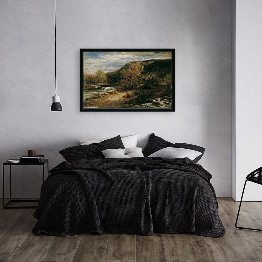 A river from the mountains  Art