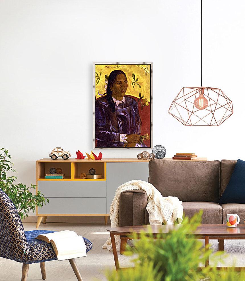 Woman with Gardenia by Gauguin  Art