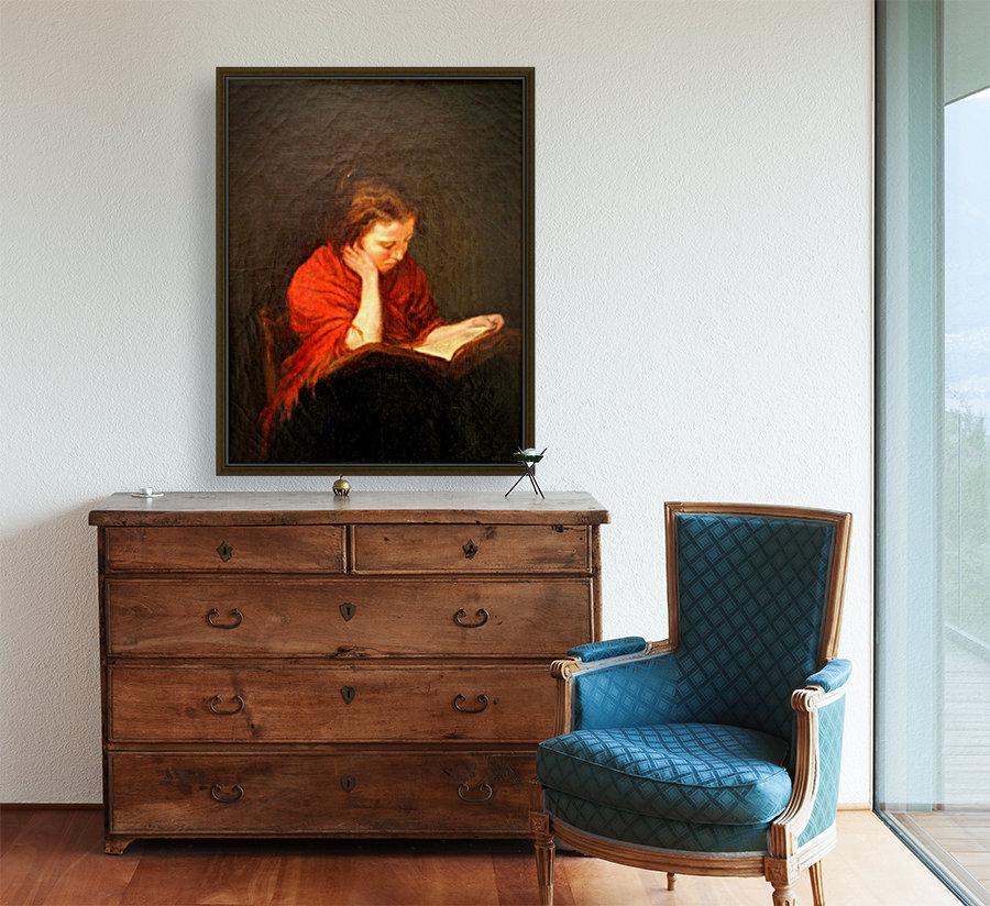 Woman reading  Art