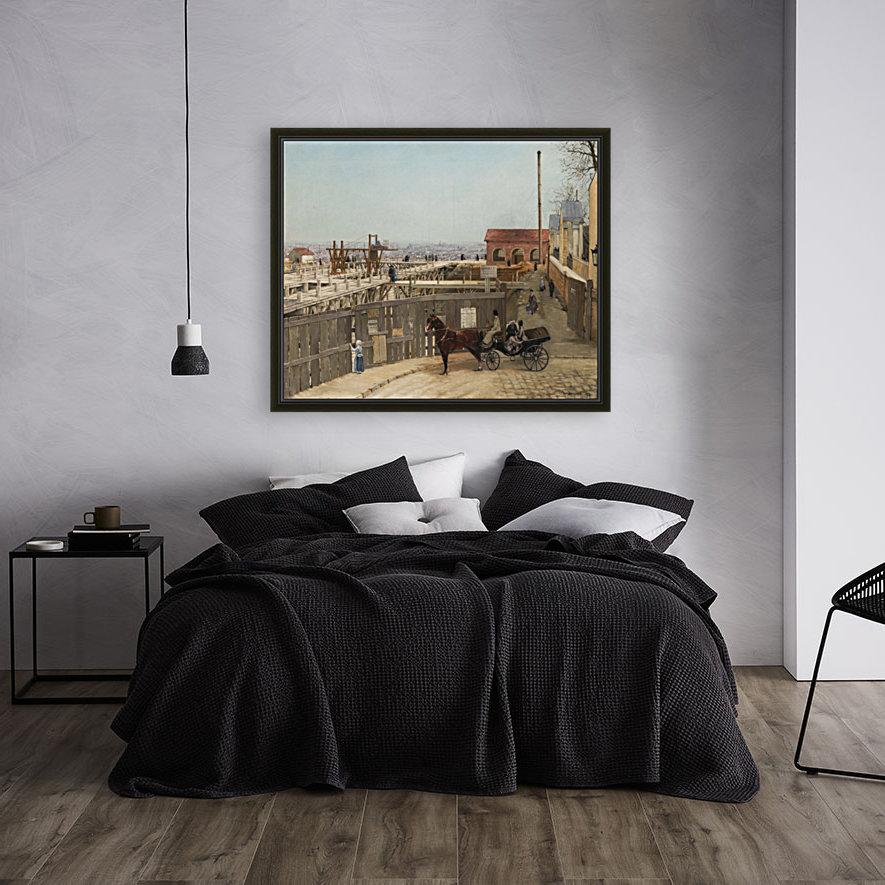 The construction of Sacre-Coeur, Montmartre  Art