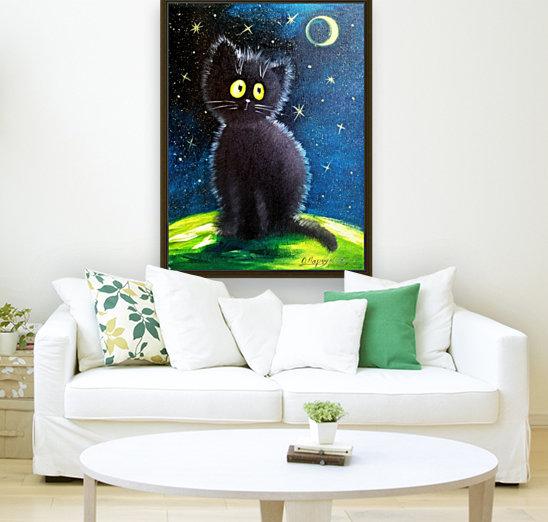 Черный кот  Art