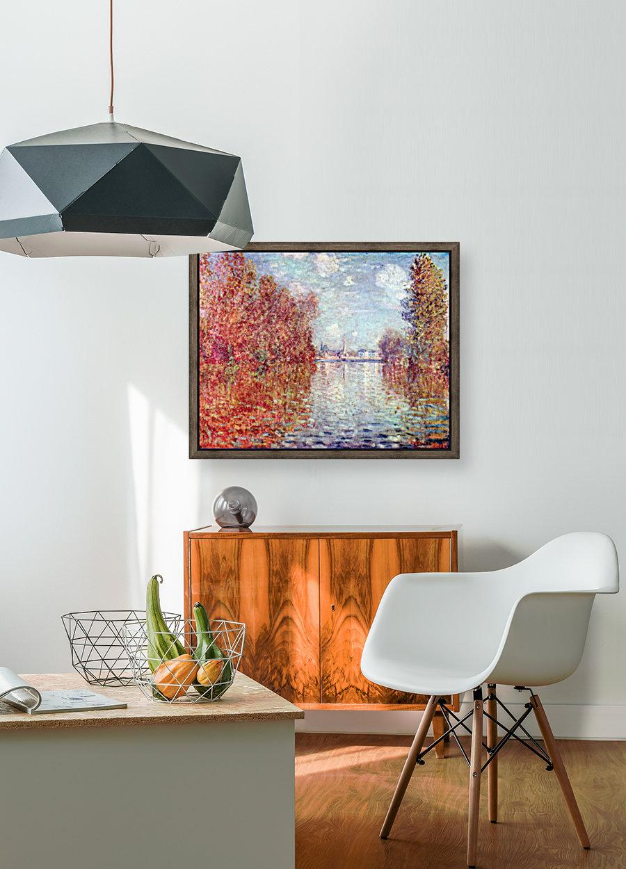 Autumn in Argenteuil by Monet  Art