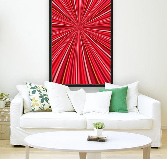 Pink Abstract Design  Art