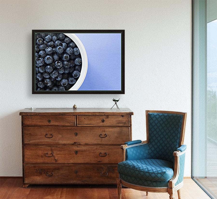 Bowl Of Blueberries  Art