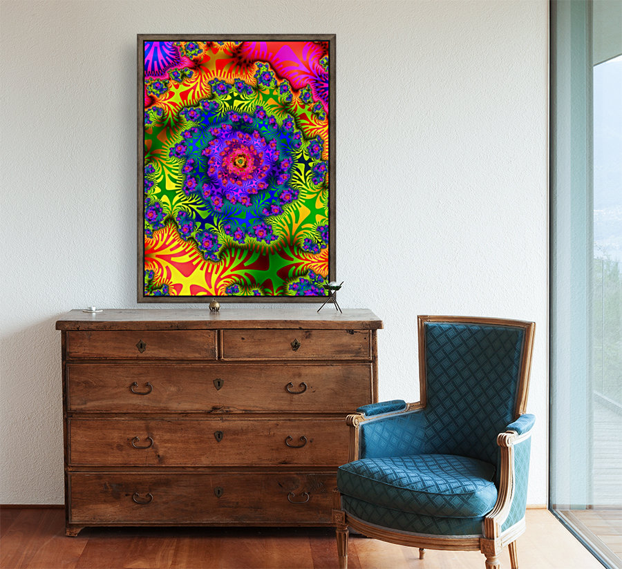 Vivid Abstract Image  Art