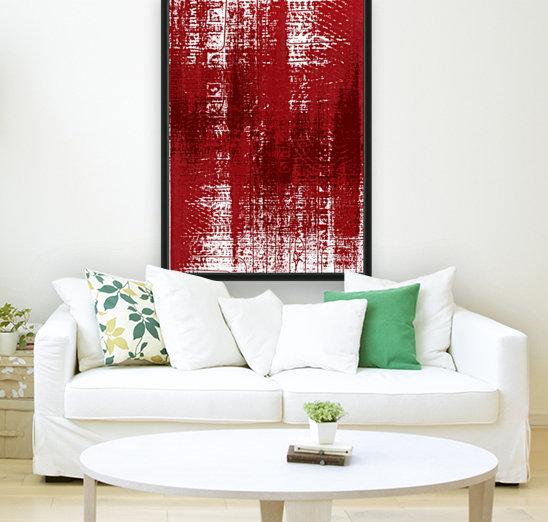 Red Texture  Art