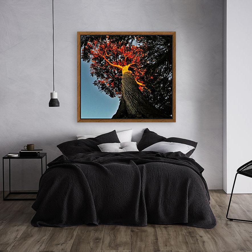 Tree on Fire  Art