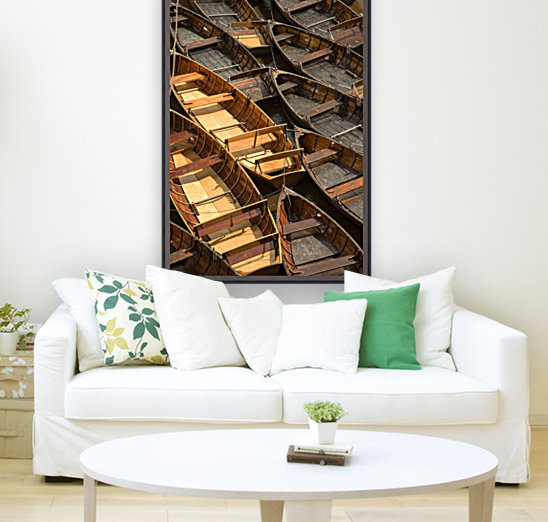 Wooden Boats  Art