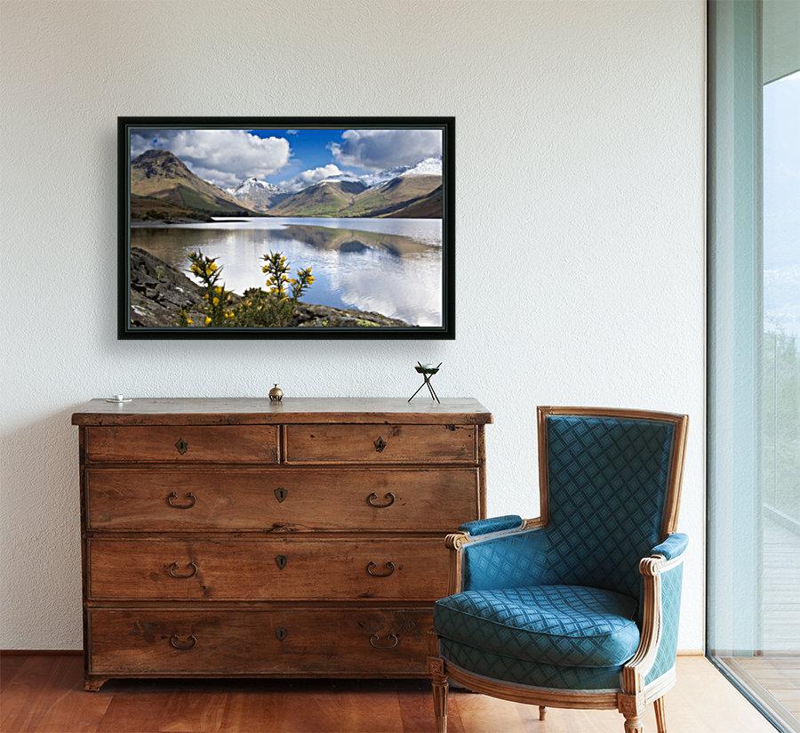 Mountains And Lake, Lake District, Cumbria, England, United Kingdom  Art